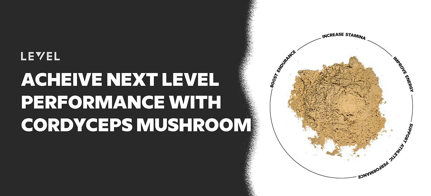 Next Level Performance with Cordyceps Mushroom
