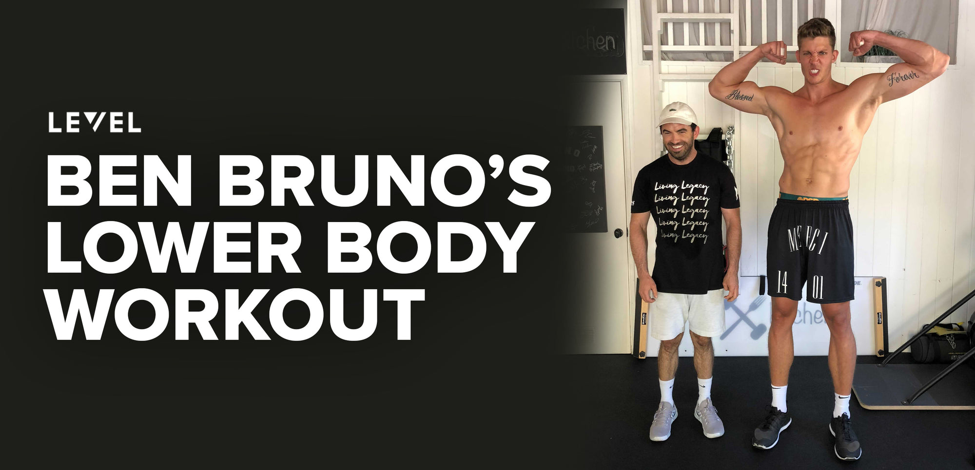 BEN BRUNO'S LOWER BODY WORKOUT