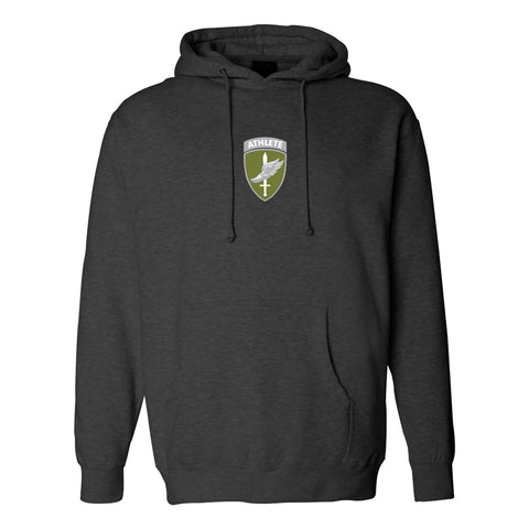 Military Athlete Hoodie 2017 - Charcoal Heather (Small and 2XL only)