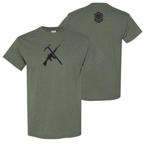 ICE AX/AR - Heather Military Green