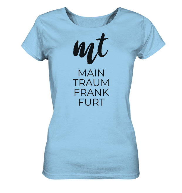 MAINTRAUM MT FRANKFURT - Women Organic Shirt