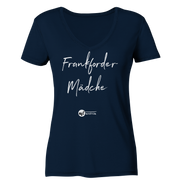 MAINTRAUM FFM MÄDCHE - Women Organic V-Neck Shirt
