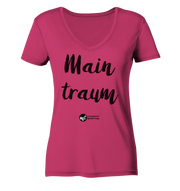 MAINTRAUM - Women Organic V-Neck Shirt