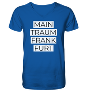 MAINTRAUM FRANKFURT - Men Organic V-Neck Shirt