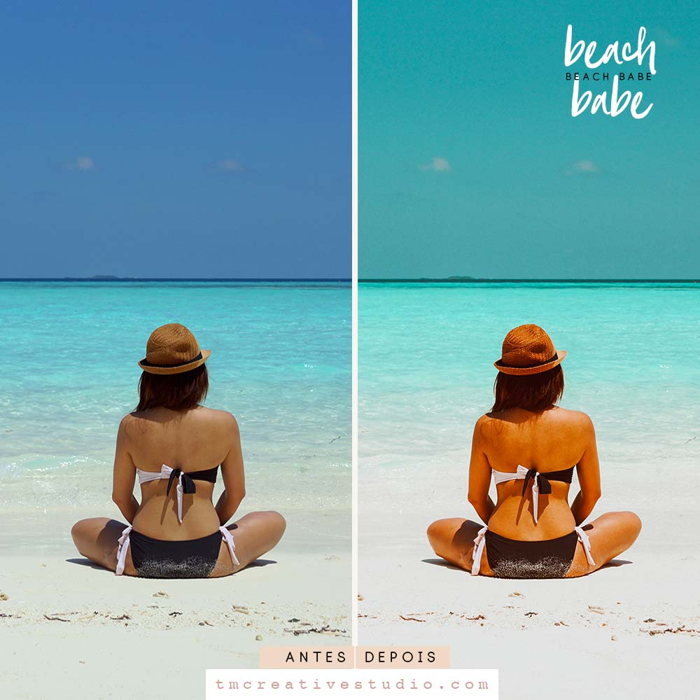 Beach Babe -  Presets Para Lightroom 4 + 1 Bônus!