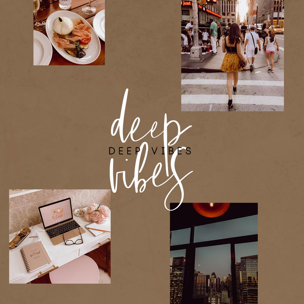 Deep Vibes - Presets Para Lightroom
