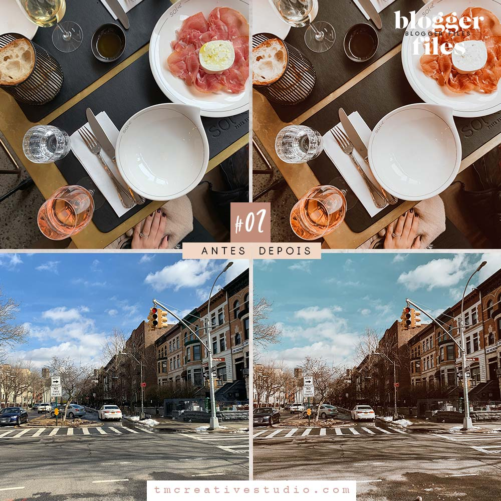 Blogger Files -  SUPERPACK com 08 Presets Para Lightroom