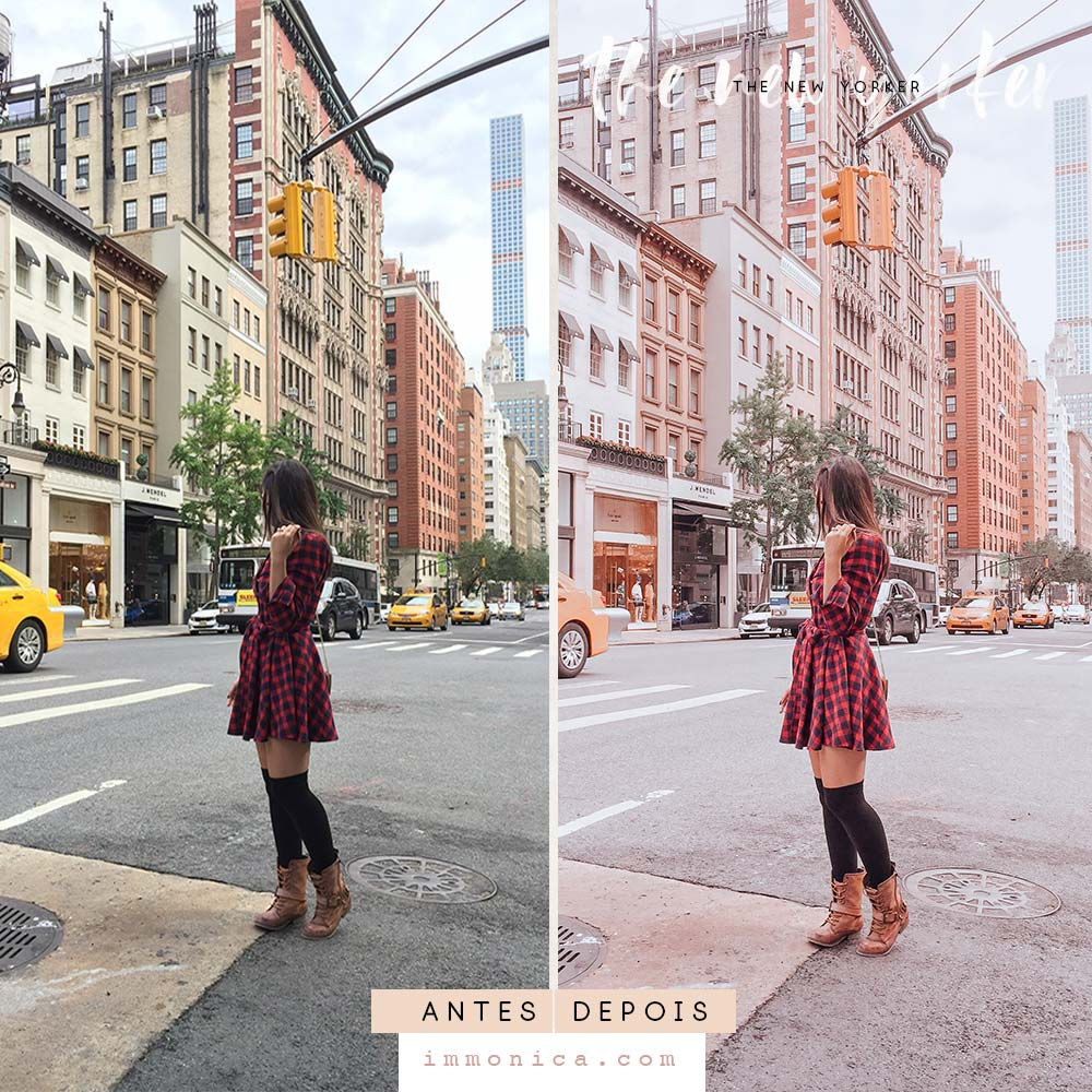 The New Yorker - Pack de Presets Para Lightroom