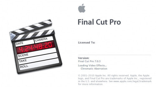 Final Cut Pro 7 - EditStock's Guide to Getting Started