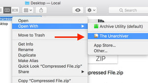 Trouble Unzipping Files on Mac