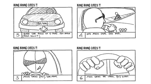 Storyboard from Bully