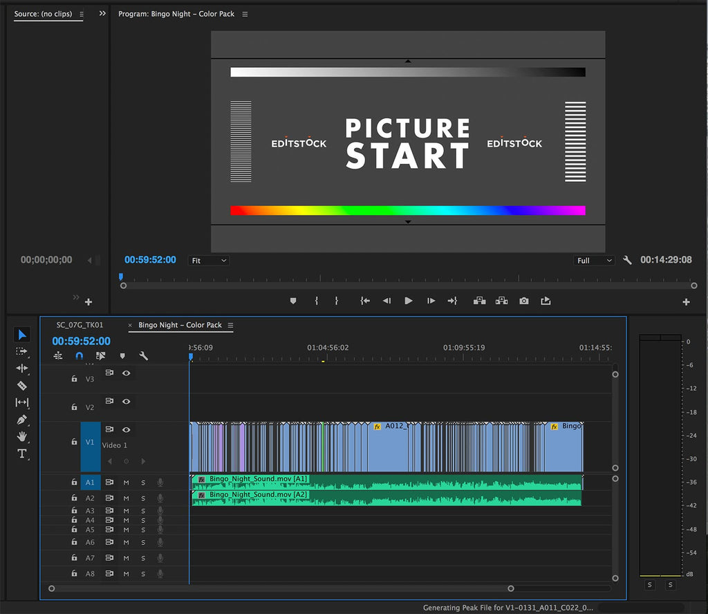 EditStock Color Pack Adobe Premiere