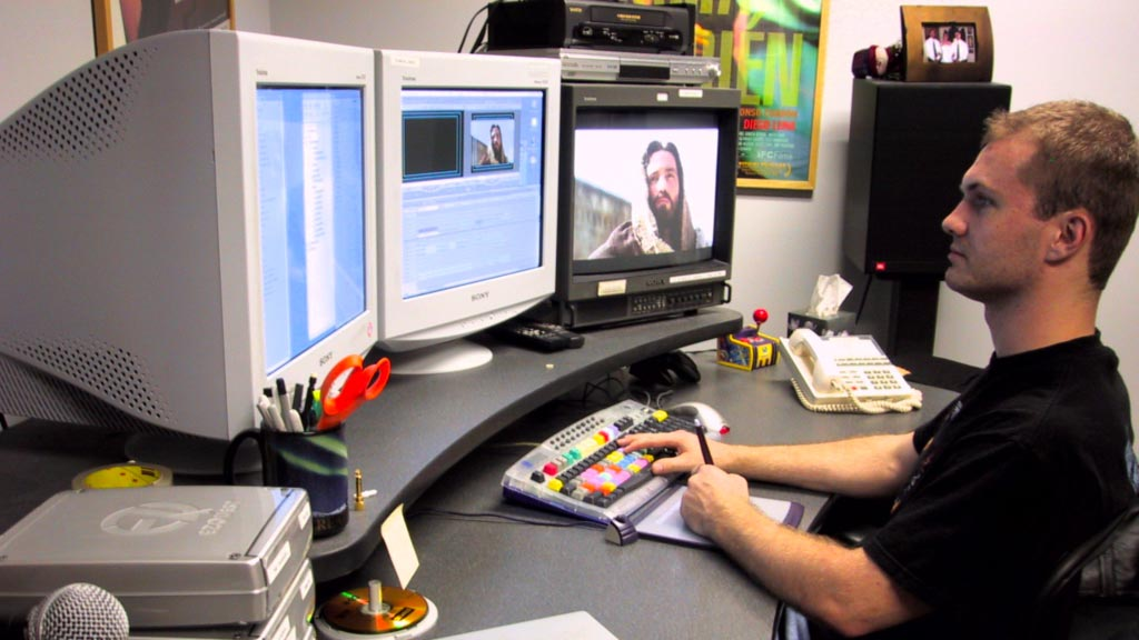 Zack Editing The Passion of the Christ Trailer
