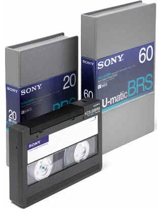 Sony U-Matic Tape