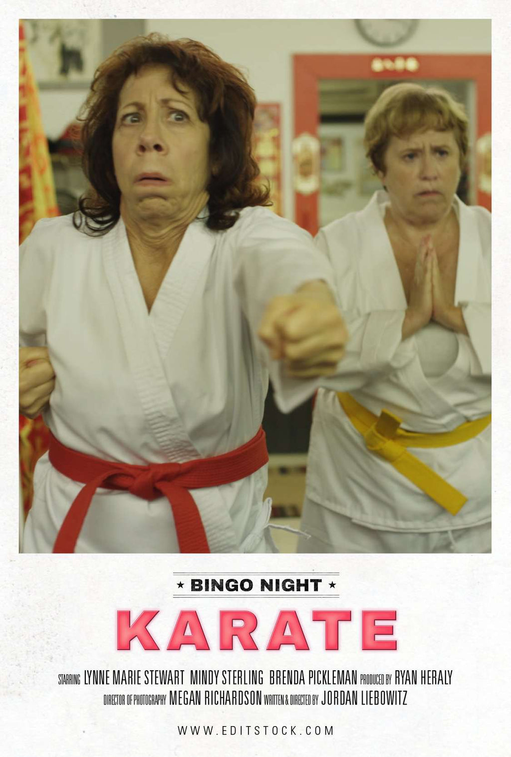 EditStock Project Bingo Night Karate