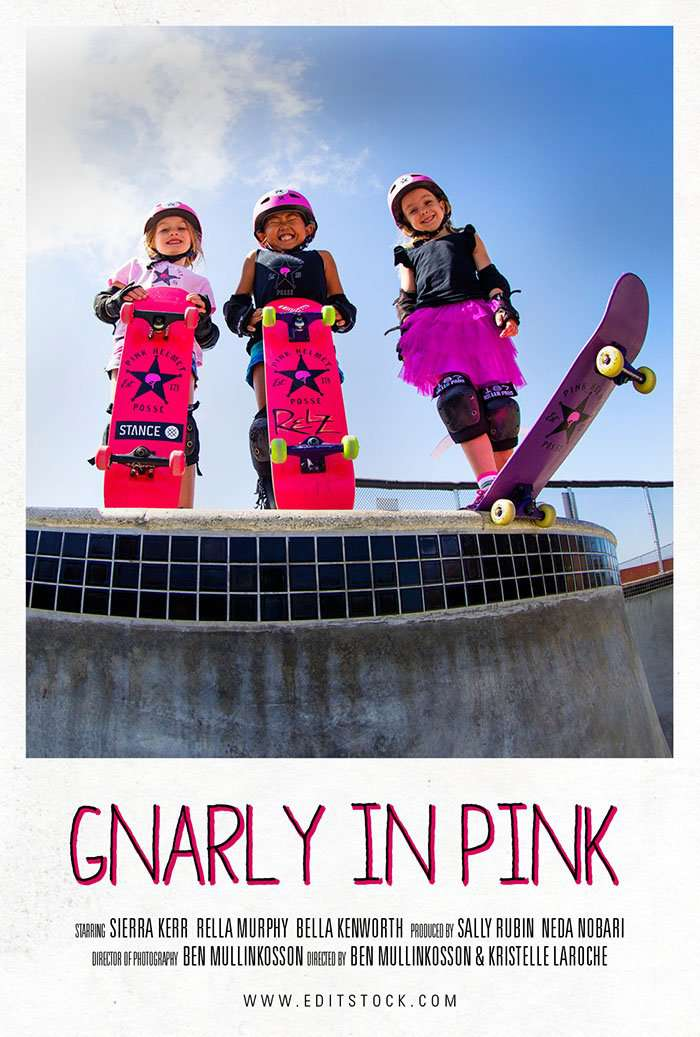 EditStock Project Gnarly In Pink