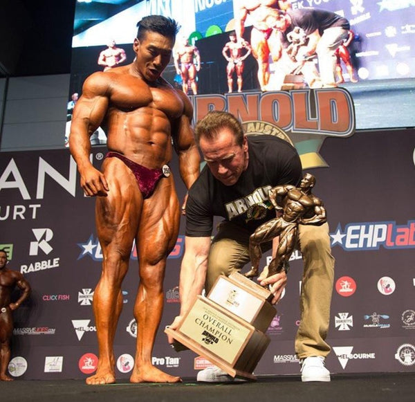 "20"" IFBB PRO DORIAN STYLE LAT SPREAD (CALL FOR PROMOTER PRICING)"