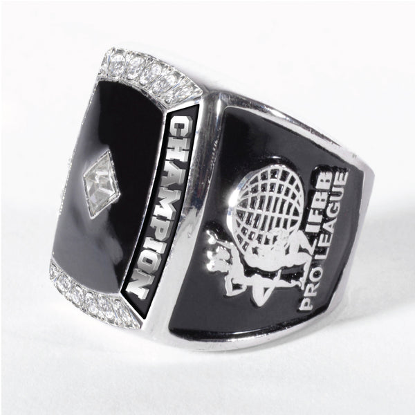 "MEN'S SWAROVSKY NPC / IFBB ""OVERALL CHAMPION"" RING"