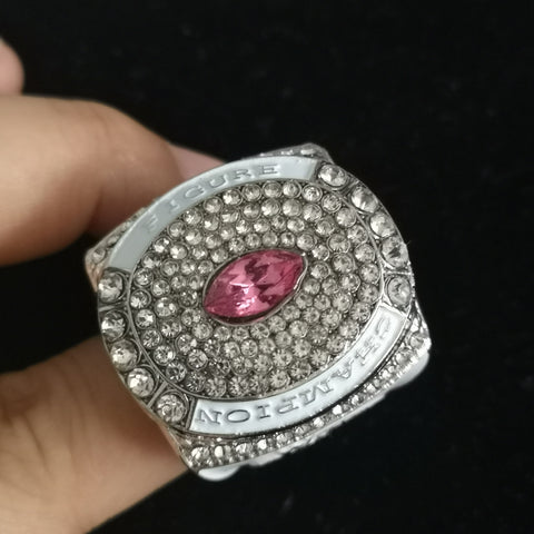 "LADIE'S SWAROVSKY NPC / IFBB ""FIGURE CHAMPION"" RING"