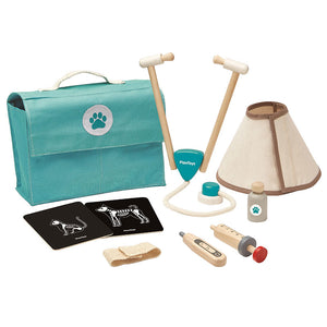 Set Veterinario in Legno