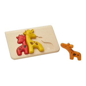 Animal First Puzzle in Legno