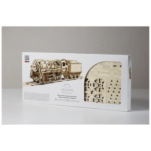 Model: Locomotiva 3D in Legno con Tender