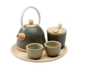 Classic Tea Set in Legno