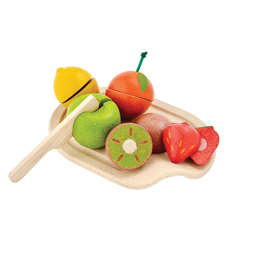Assorted Fruit Set in Legno
