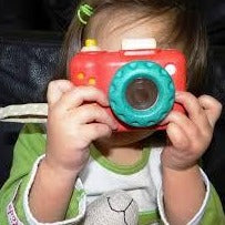 My First Camera in Legno
