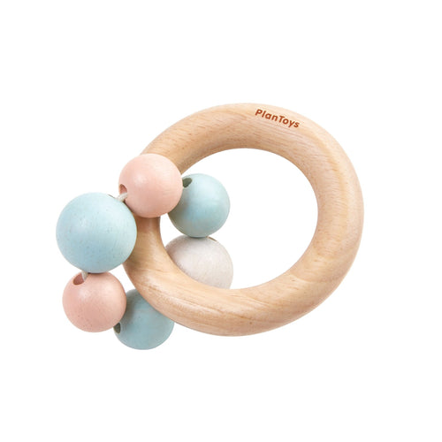 Beads Rattle in Legno