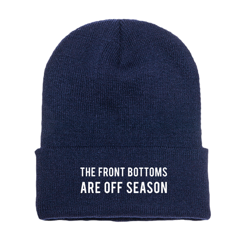 Navy Off Season [ Beanie ]