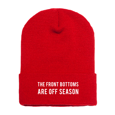 Red Off Season [Beanie]