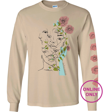 Lonely Eyes [ Long Sleeve T-Shirt ]