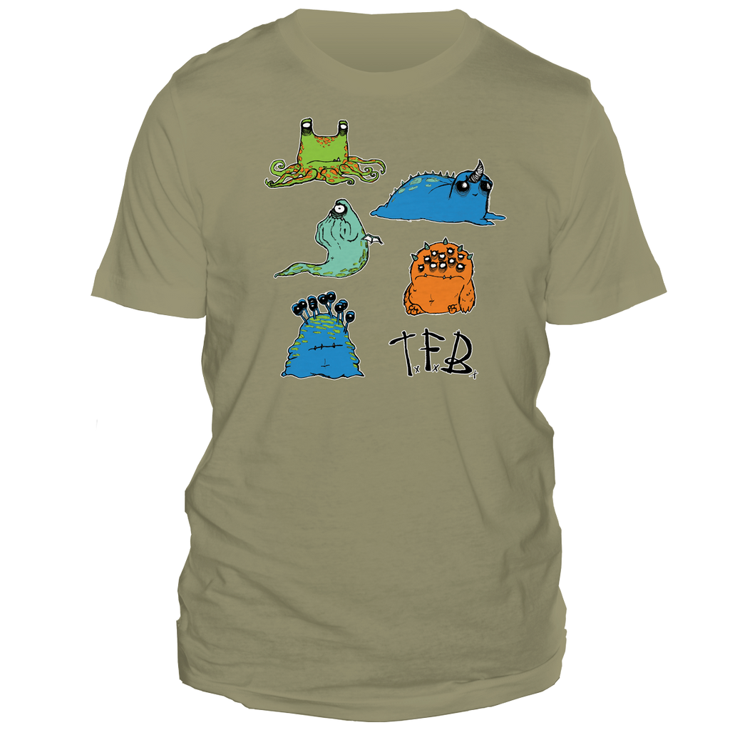 Chubby Monsters [ T-Shirt ]
