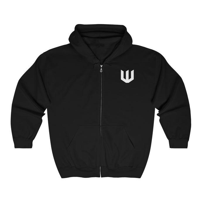 Unisex Heavy Zip Hooded Sweatshirt (XS-5XL)