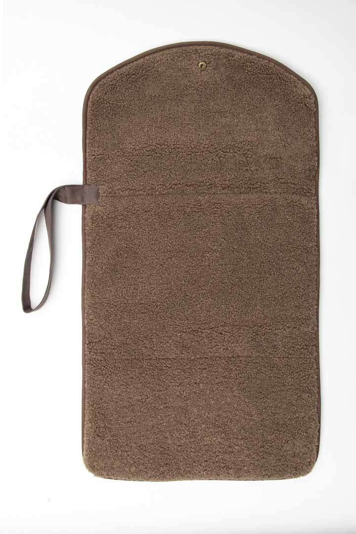Chunky changing mat brown