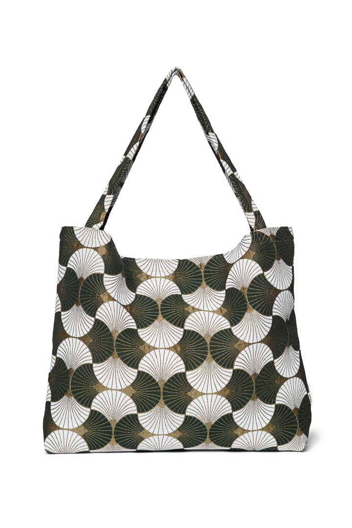 Golden sunrise green mom-bag