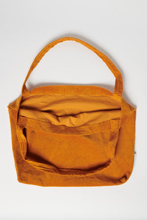 Orange rib mom-bag