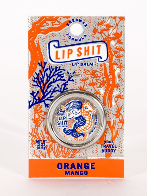 Lip Shit Orange Mango