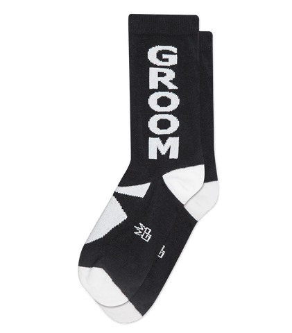 Groom- Black/White