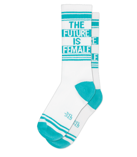 The Future Is Female - Turq/Wht