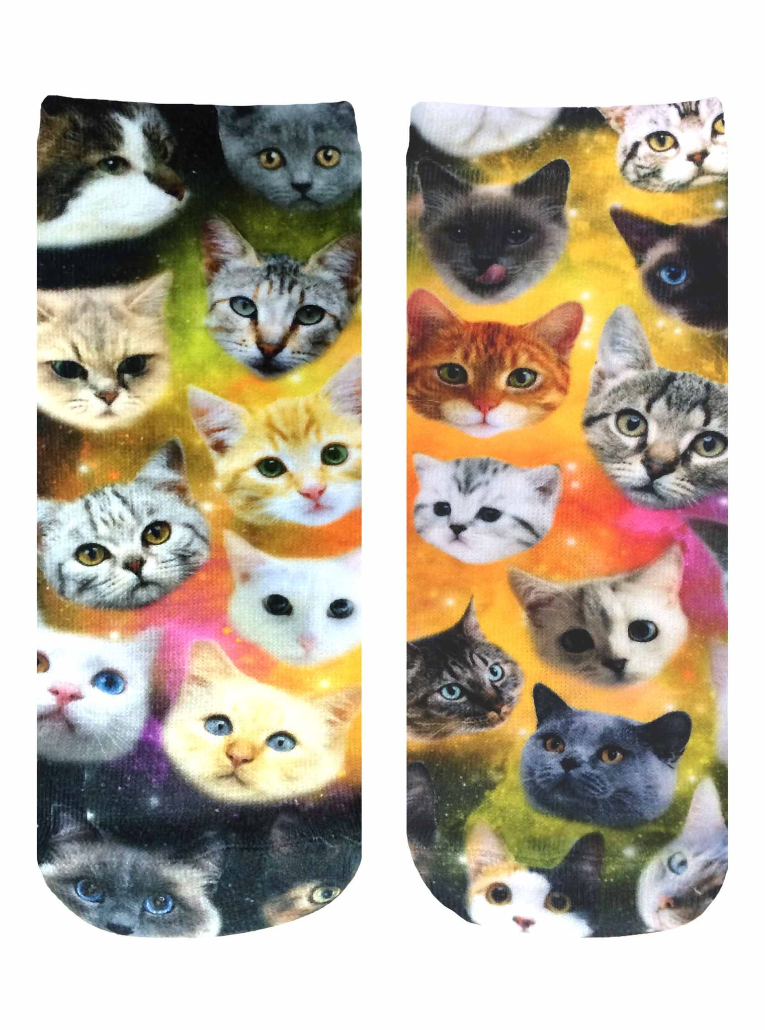Galaxy Kitty Ankle