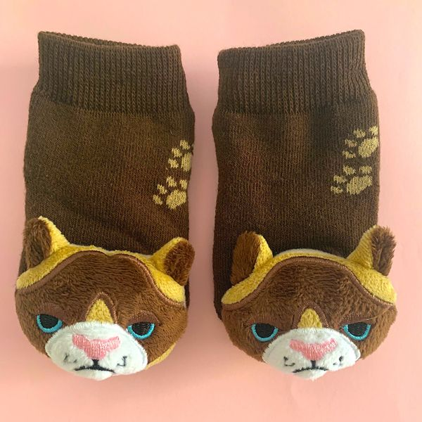 Smarty Kat Boogie Toes Rattle Sock