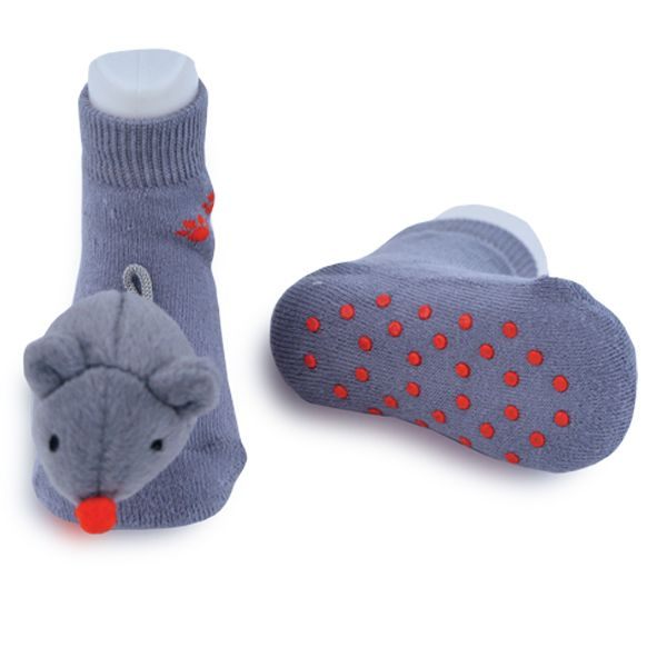 Mini Mouse Boogie Toes Rattle Sock