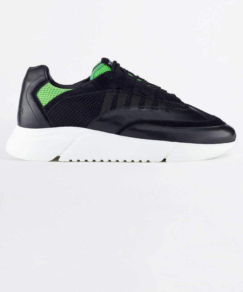 D.N.A. RUNNER    black / neon green