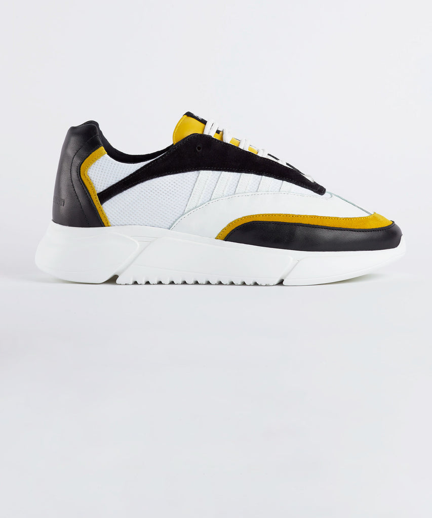 D.N.A. RUNNER black / yellow / white