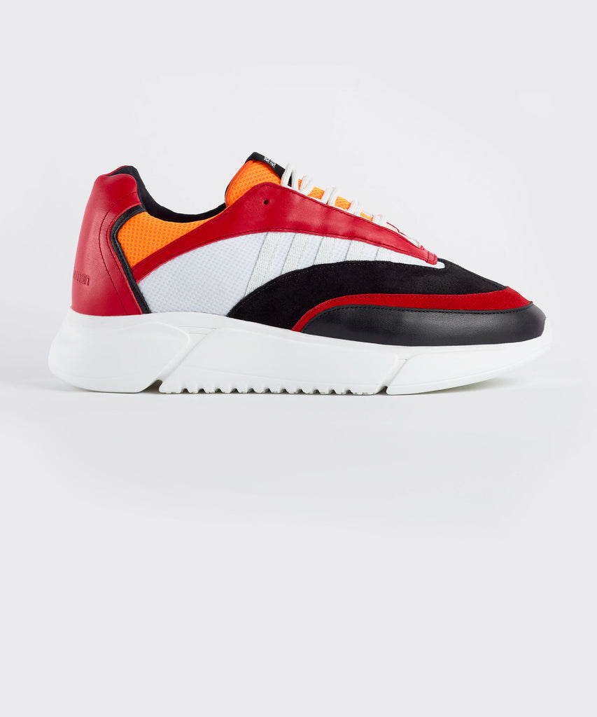 D.N.A. RUNNER black / red / orange