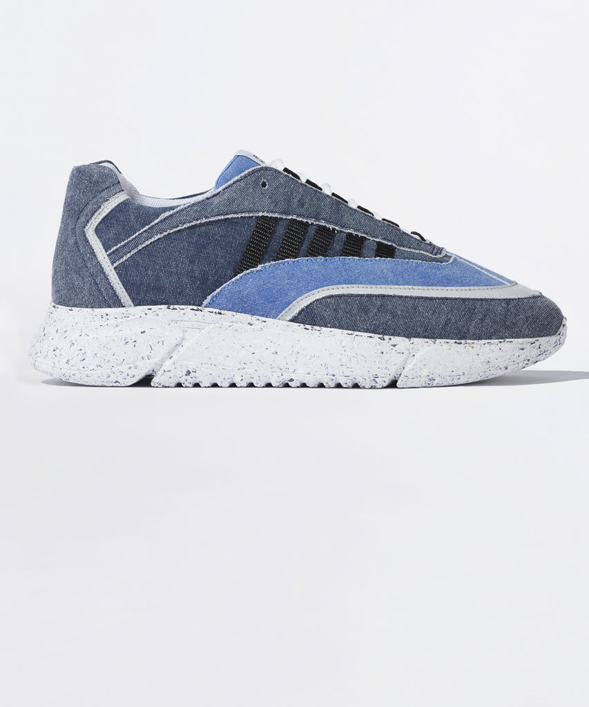 D.N.A. RUNNER  blue recycled denim