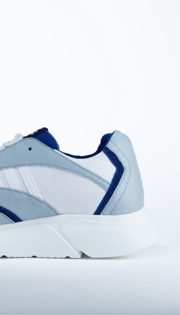 D.N.A. RUNNER blue / white