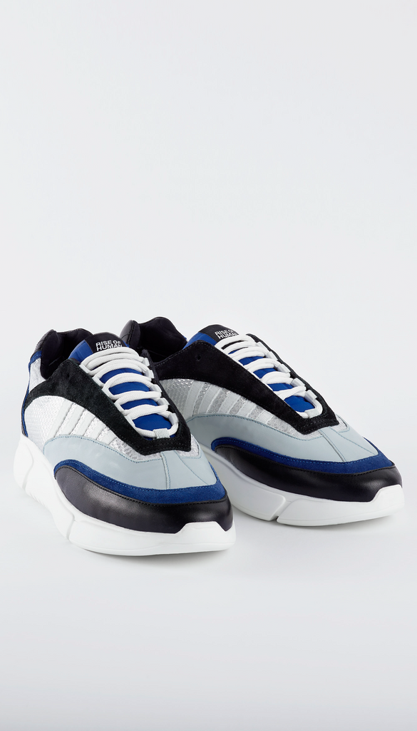 D.N.A. RUNNER black / blue / silver